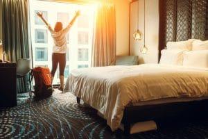 Hotel, recreatie en vakantie